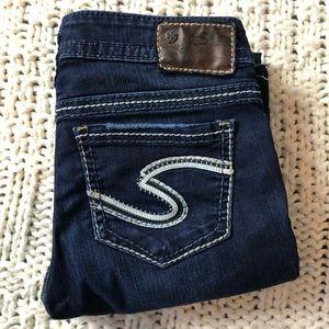 SILVER JEANS frances bootcut jeans